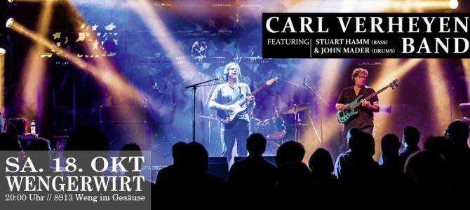 Carl Verheyen – Mustang Run Tour 2014