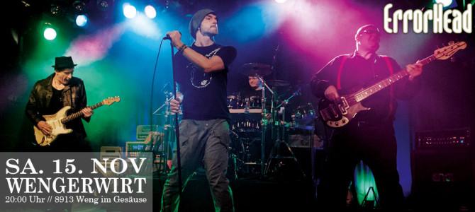 Errorhead – Evolution Tour 2014