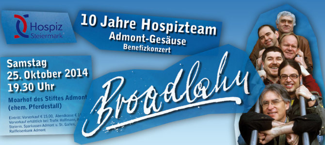 Broadlahn – Benefizkonzert in Admont
